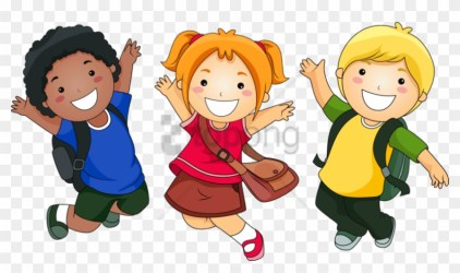Free Png School Kids Clip Art Png Png Image With Transparent Happy Children Cartoon #3261133 PikPng