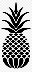 Silhouette Pineapple Outline Png