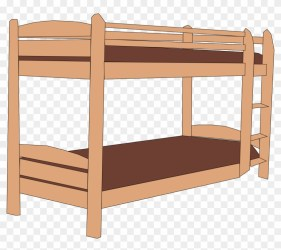 Cartoon Bunk Bed Bunk Bed Clipart Png Download #3612289 PikPng