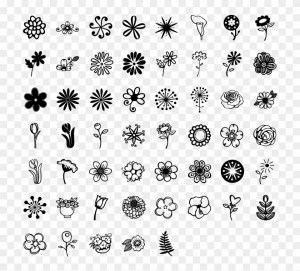 henna clipart drawings draw easy flowers pikpng complaint copyright