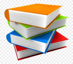 Book Stack Transparent Books Png Clipart #49263 PikPng