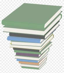 Open Stack Of Books Transparent Background Clipart #49587 PikPng