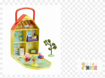 Peppa s House & Garden Playset Clipart #4841376 PikPng