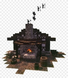 Creativeblacksmith s Forge Using The Conquest Reforged Minecraft Blacksmith Forge Clipart #4870683 PikPng