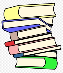 Stack Of Books Clip Art The Cliparts Cartoon Book Transparent Background Png Download #50101 PikPng