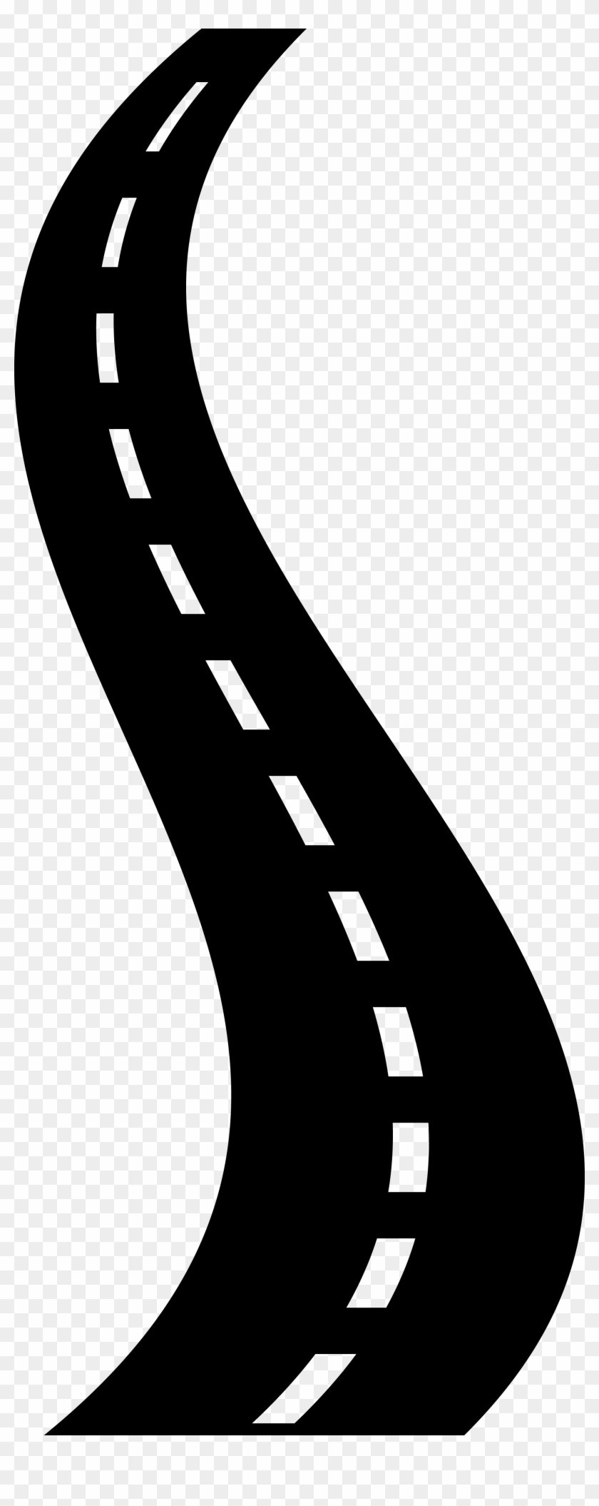 Road Clipart Black And White : clipart, black, white, Clipart, Transparent, (#581025), PikPng