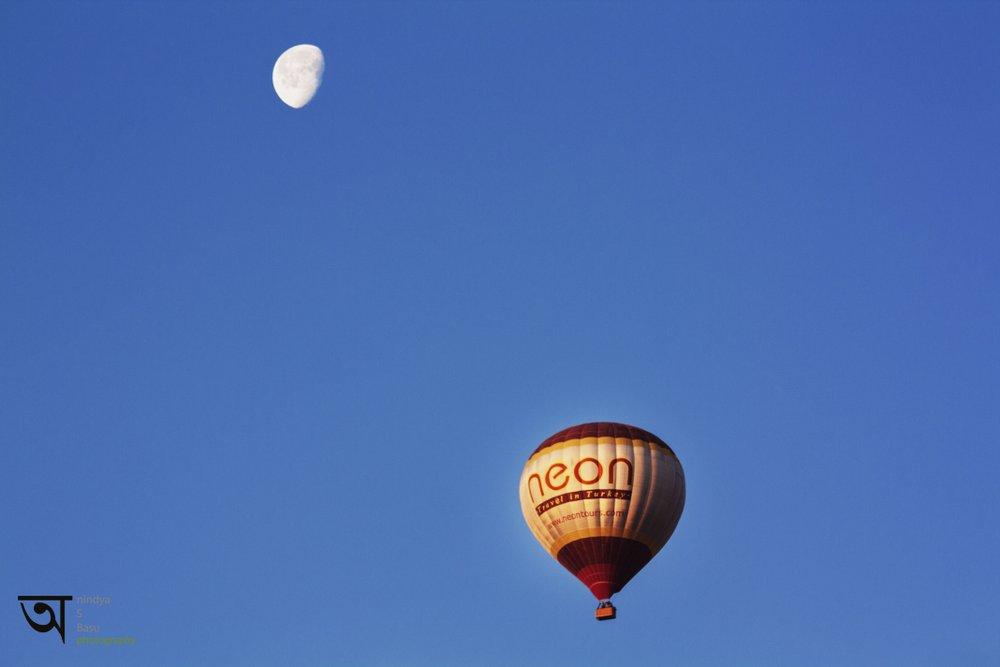 Hot air balloon ride in Cappadocia 1