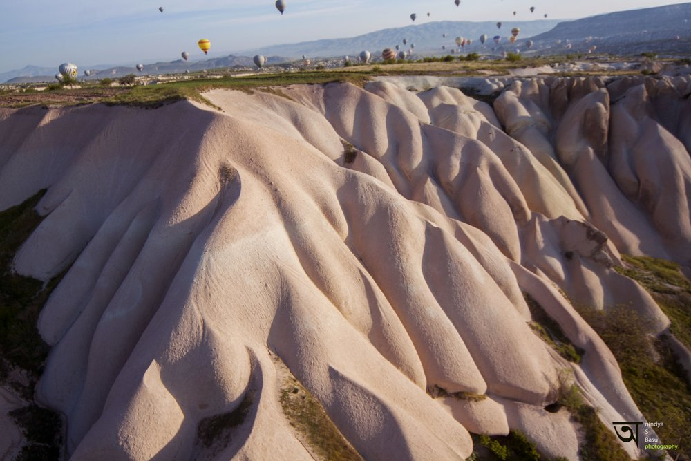 Hot air balloon ride in Cappadocia 7