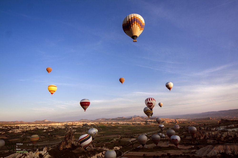 Hot air balloon ride in Cappadocia 8