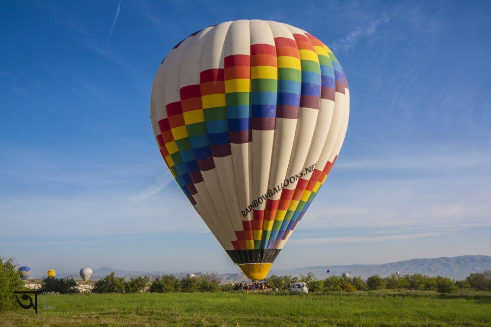 Hot air balloon ride in Cappadocia 10
