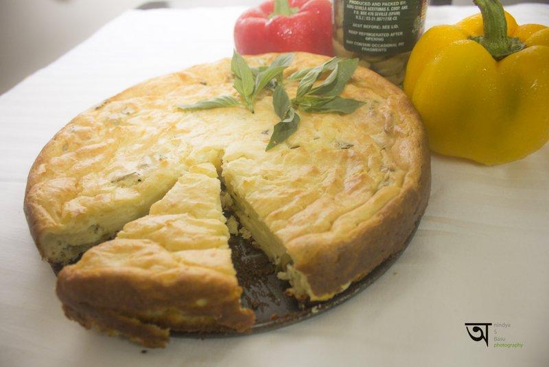 Feta Cheese Pie Kolkata food