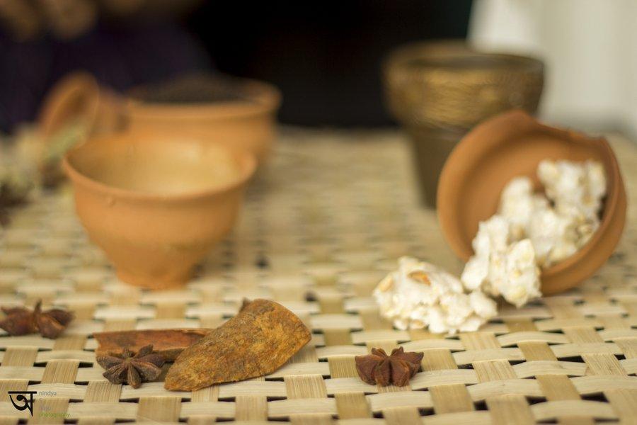 Few ingredients of Masala Tea Ice cream