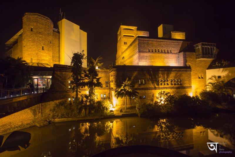 The wonderful view of Ffort raichak in night