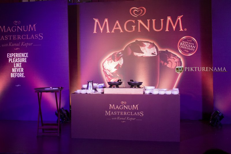 Magnum Ice Cream Launch at Kolkata Taj Bengal