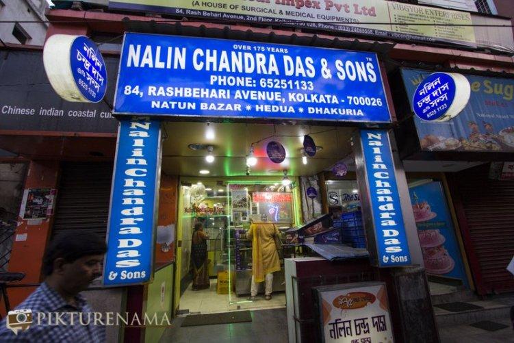 Nalin Chandra das in 10 best sweet shops in kolkata by pikturenama