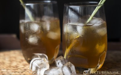 Iced tea with lemongrass and ginger – the journey of thirst quenchers
