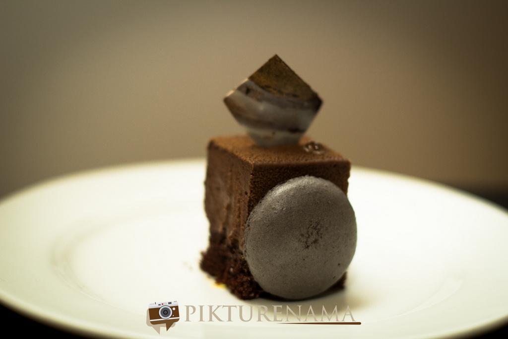 The Lalit Great Eastern Bakery belgian chocolate hazelnut mousse cake