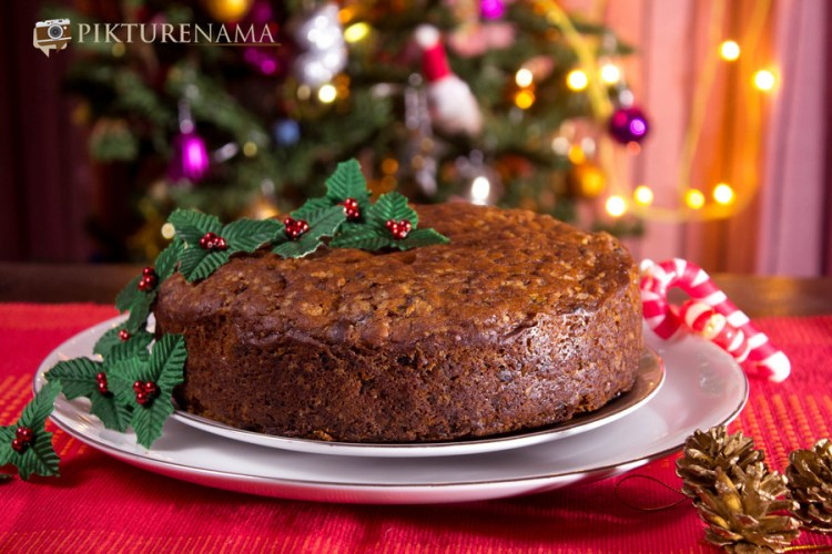 Eggless rich fruit cake 6