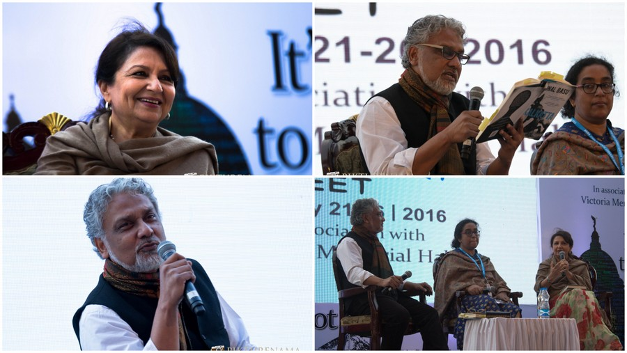 Tata  Steel Kolkata Literary Meet – Kalkatta  by Kunal Basu and Sharmila Tagore