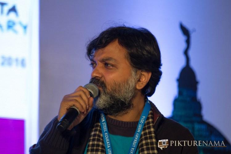 Tata Steel Kolkata Literarury Meet day 2 srijit 2