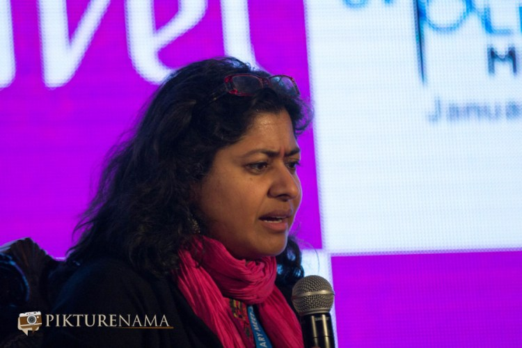 Vazira at Tata Steel Kolkata Literary Meet day 2 1