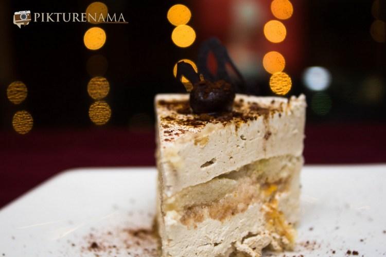 Tiramisu in Mexo Italiana food by Casa Kitchen
