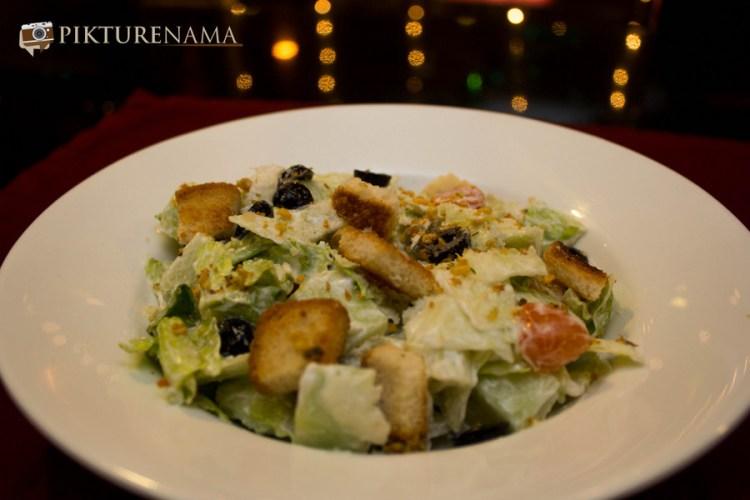 Veg Caeser Salad Mexo Italiana food by Casa Kitchen