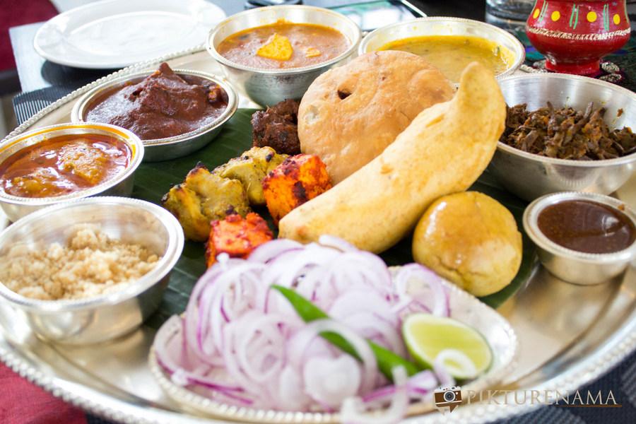 Jodhpuri Food festival at Novotel Kolkata - the full platter