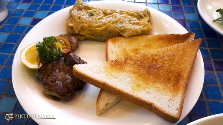 German Bakery Pune japanese omlette