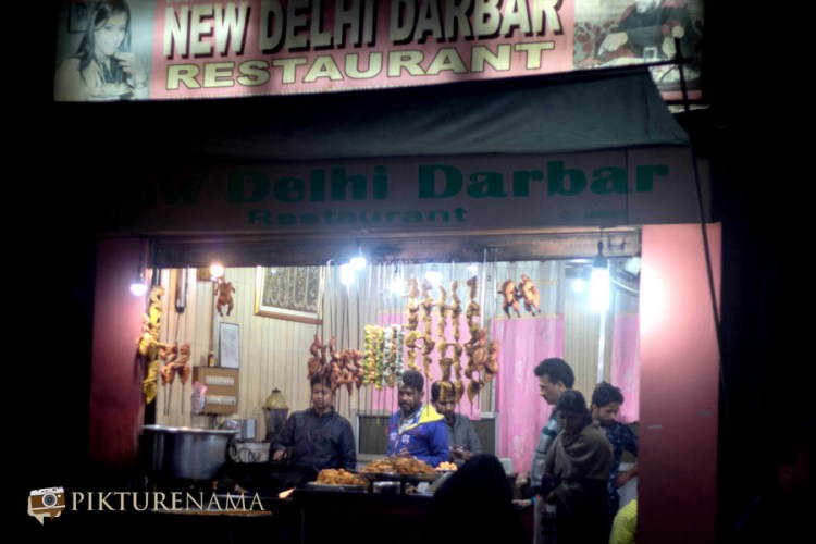Khayam Chowk Srinagar new Delhi Durbar Restaurant