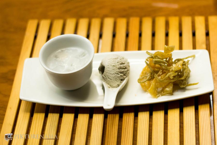 black sesame seed ice cream Asian Noodles festival at The Zen Park Hotels Kolkata