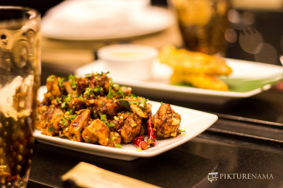 chicken takrai Pan Asian ITC Sonar Kolkata
