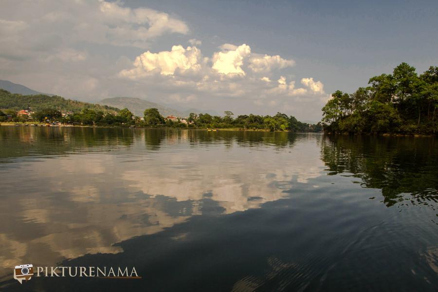Phewa Lake Pokhara boat ride - 8