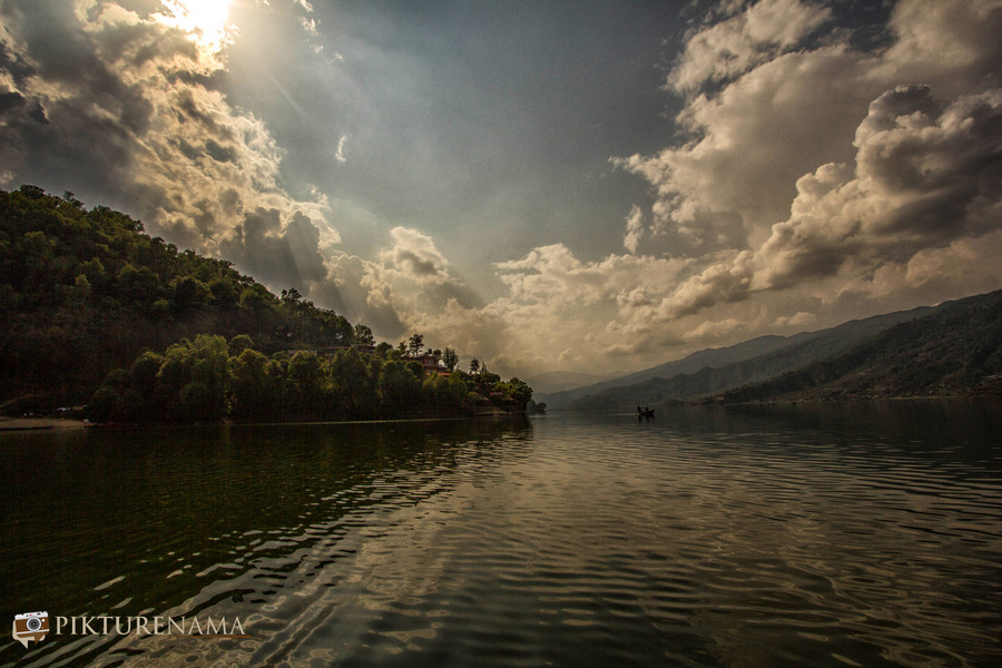 Phewa Lake Pokhara boat ride - 4