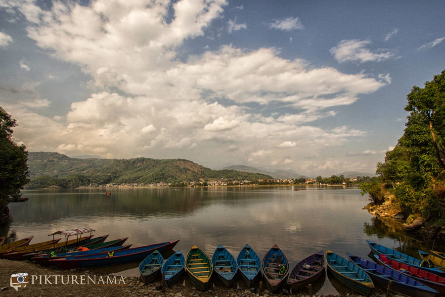 Phewa Lake Pokhara boat ride - F