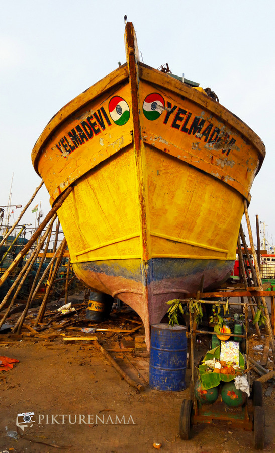 Vizag fishing harbour 1