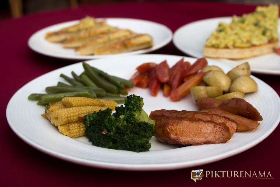 Abcos Food Plaza Kolkata sausages