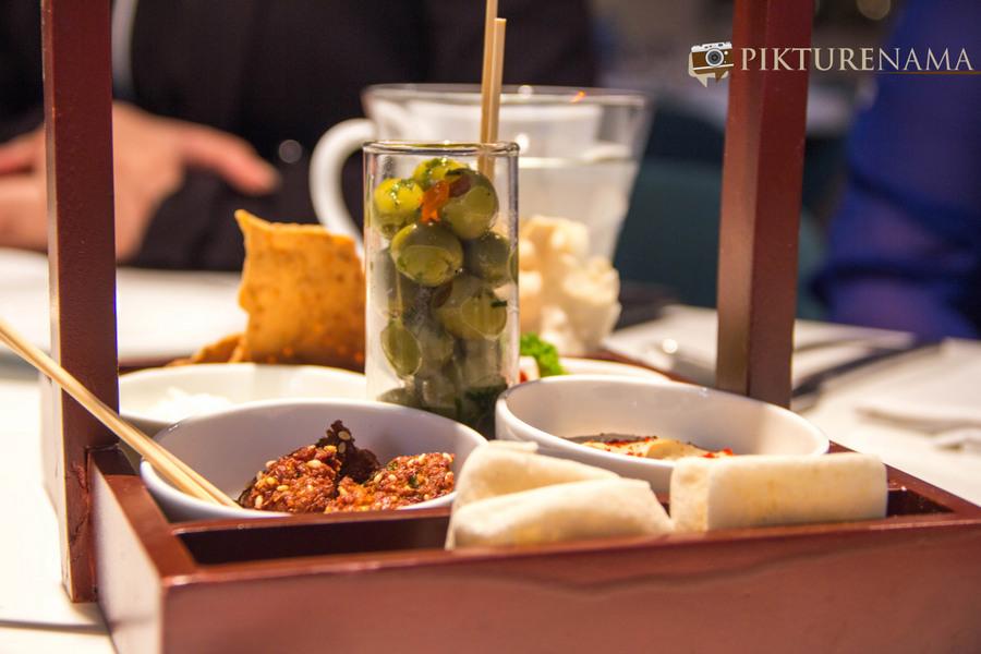 New menu at The Park Kolkata mezze platter