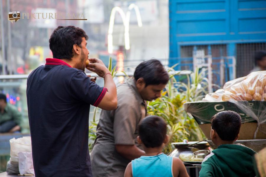 Best Kolkata Phuchka New market