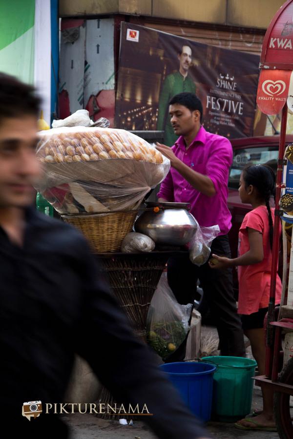 Best Kolkata Phuchka new market 2