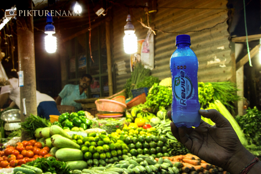 7UP revive vegetable market
