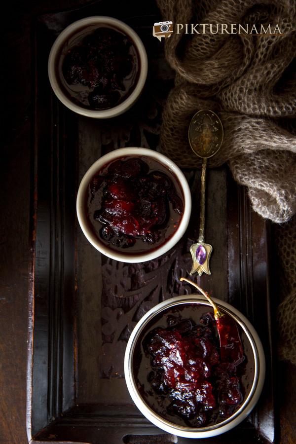 Cranberry Chutney 6