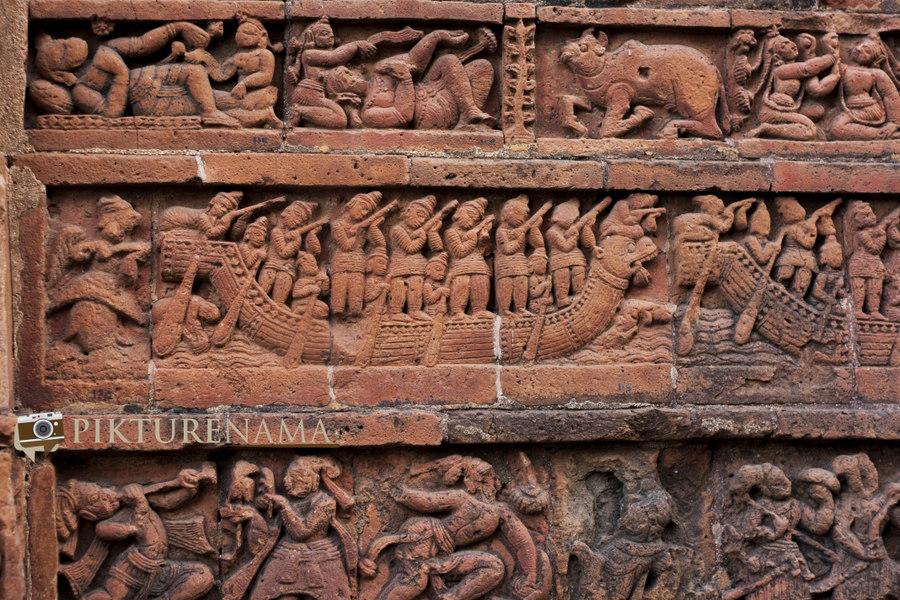 Bishnupur- Terracotta- work 7
