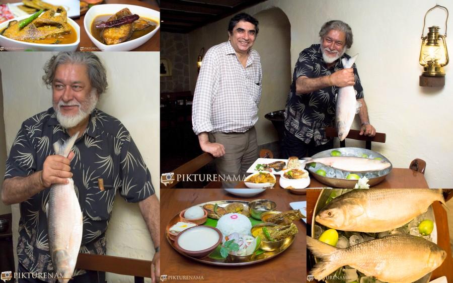 Ilish Machh festival at Taj Bengal Kolkata and Kalyan Ray the perfect combination