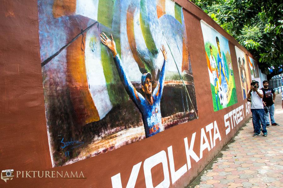 Kolkata Street Art festival 2
