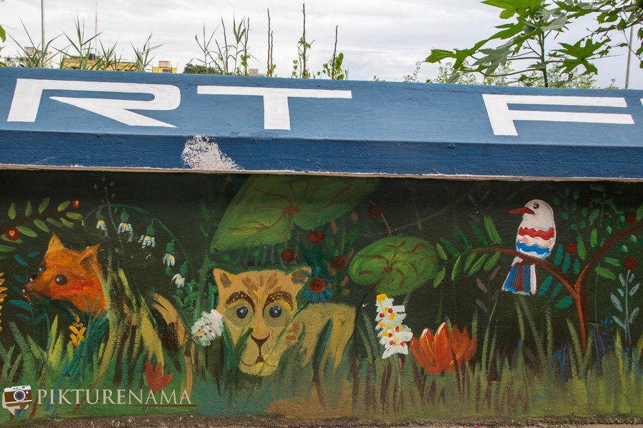 Kolkata Street Art festival 18