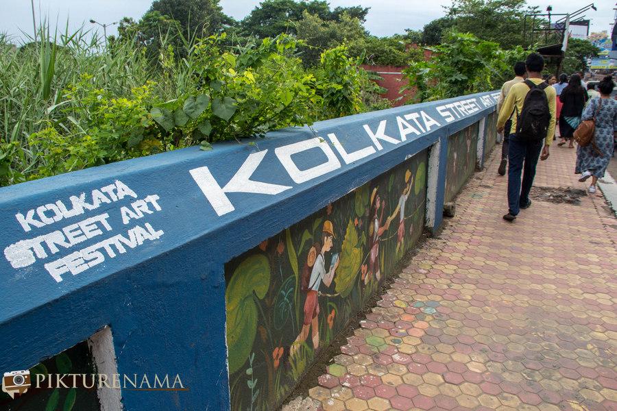 Kolkata Street Art festival 21