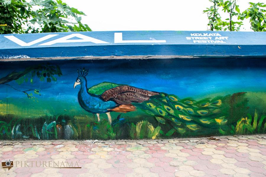 Kolkata Street Art festival 23