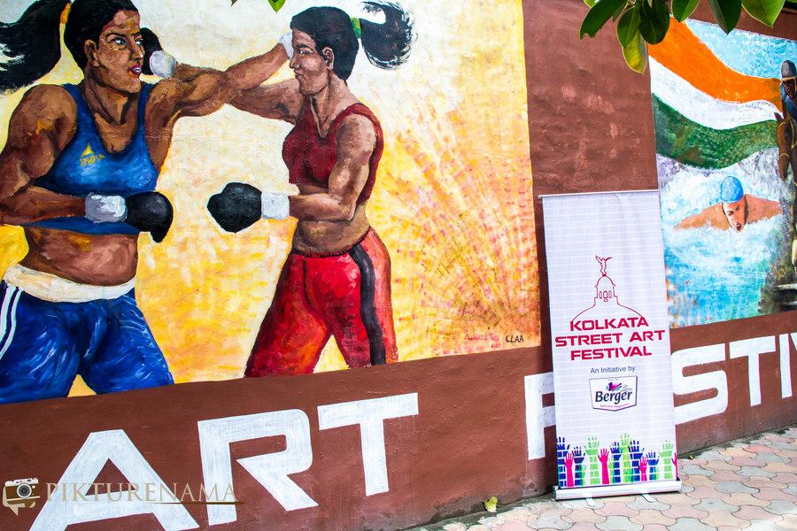 Kolkata Street Art festival 4