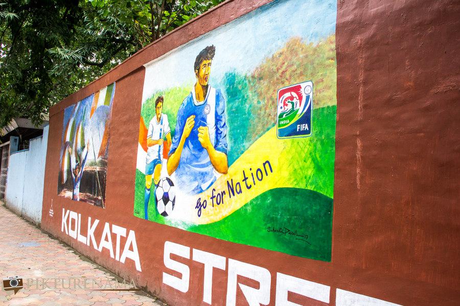 Kolkata Street Art festival 5
